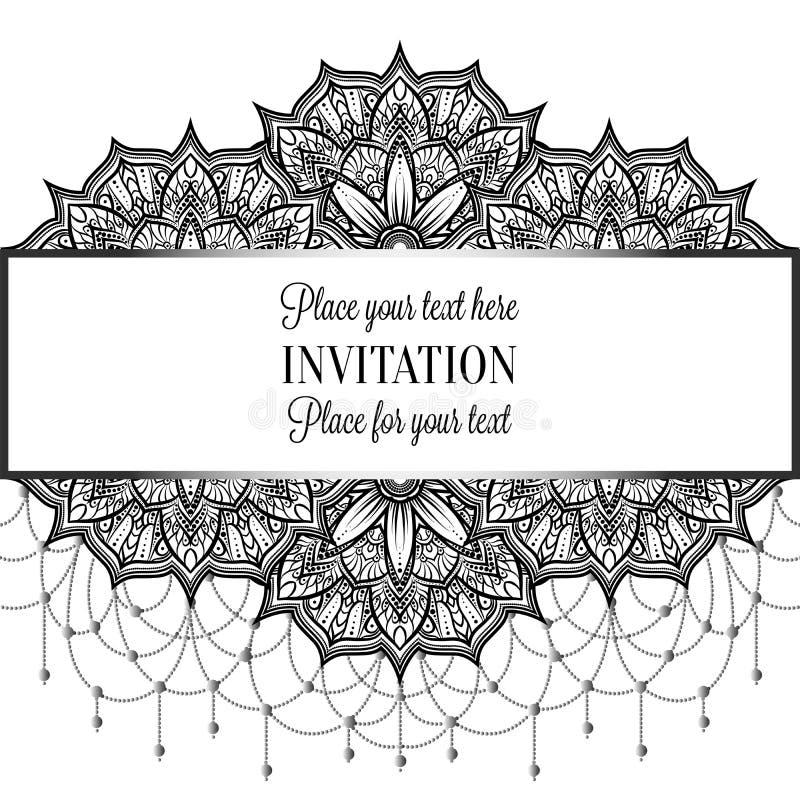 Vintage Baroque Wedding Invitation Template Stock Vector ...