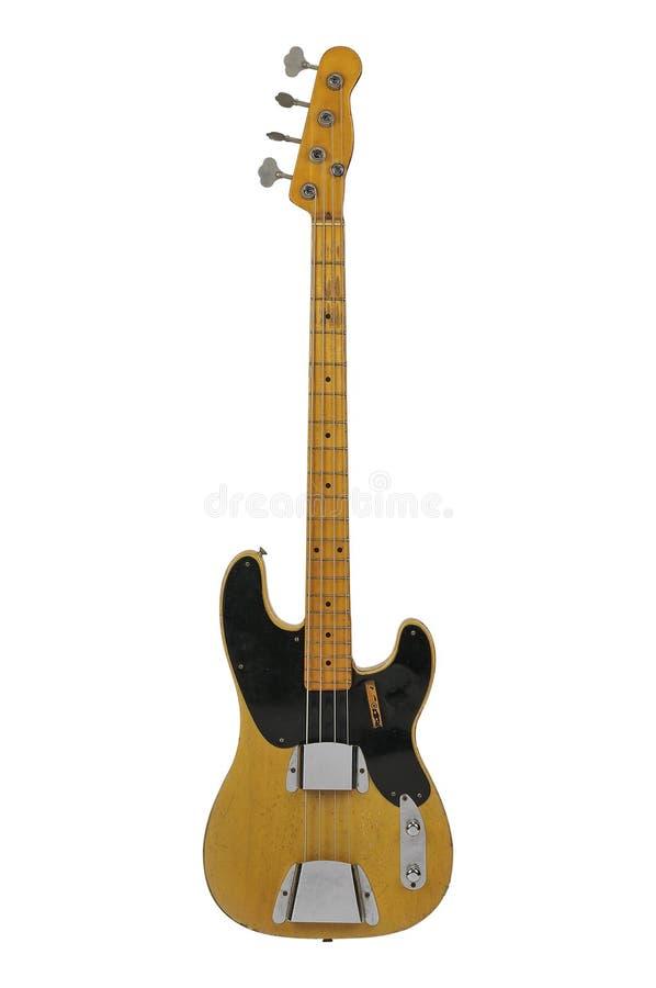 Download Vintage Bass Guitar stock image. Image of blues, stringed - 23506149