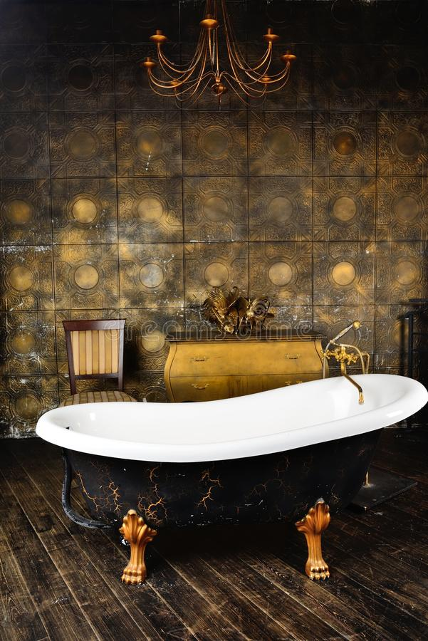 Vintage bath royalty free stock photography