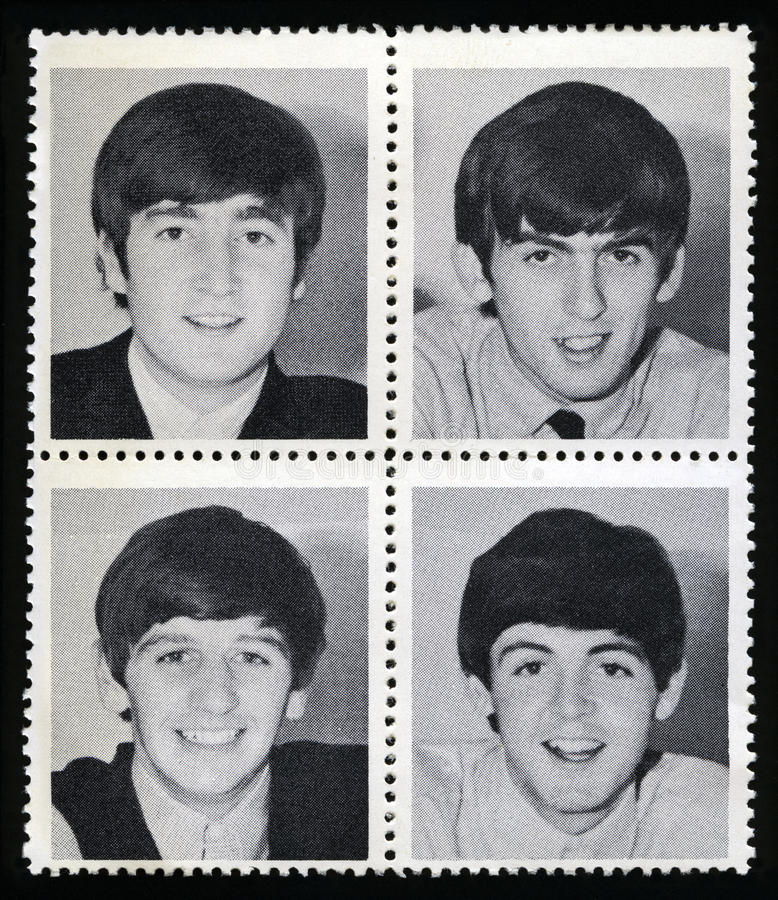 Free Vintage Beatles Royalty Free Stock Photos - 85363238