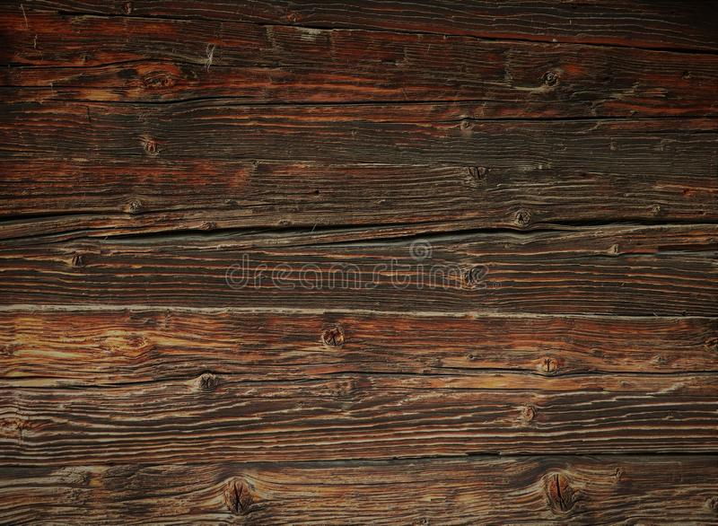 Vintage beautiful wooden surface, table in brown tones stock photos
