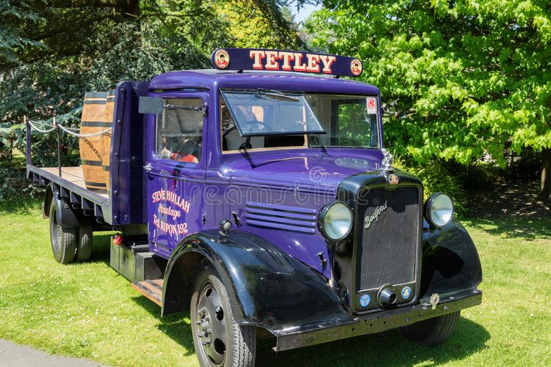 1940`s Old Style Delivery Van. royalty free stock image
