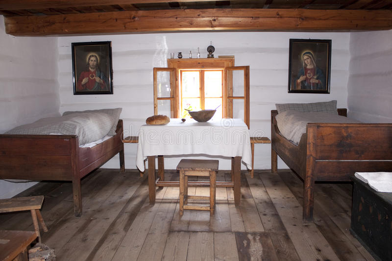 Download Vintage bedroom stock photo. Image of picture, rural - 10542390