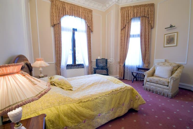 Download Vintage bedroom stock photo. Image of headboard, furnished - 4276588