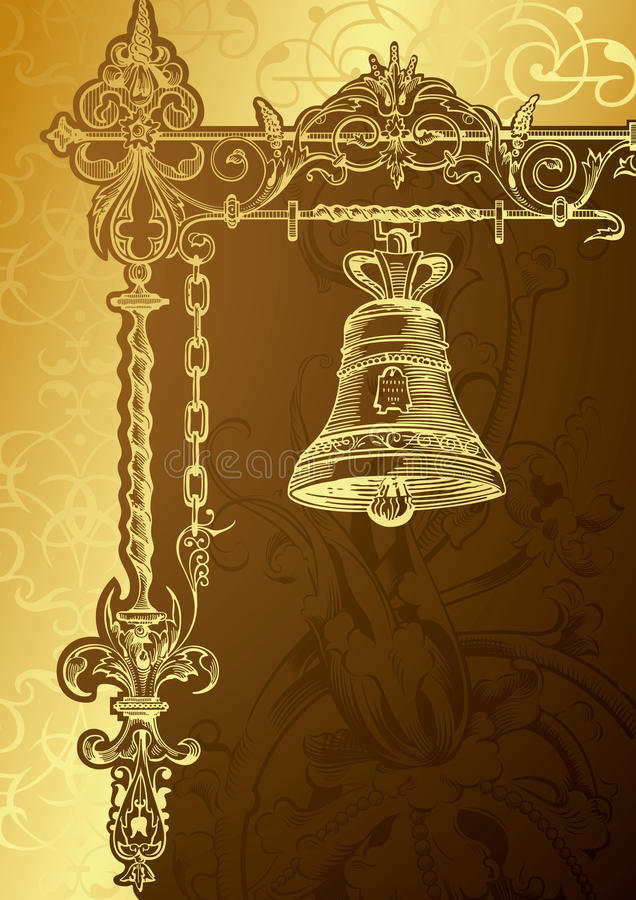 Vintage Bell vector illustration