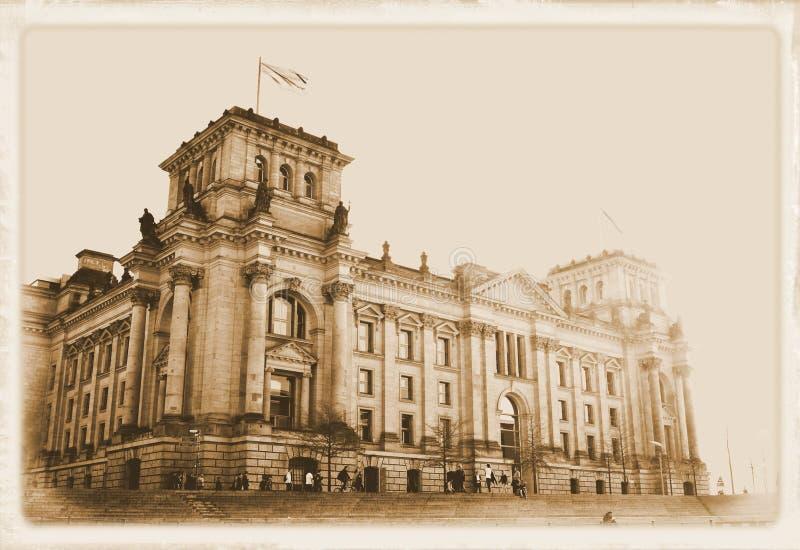 Vintage Berlin royalty free stock photo