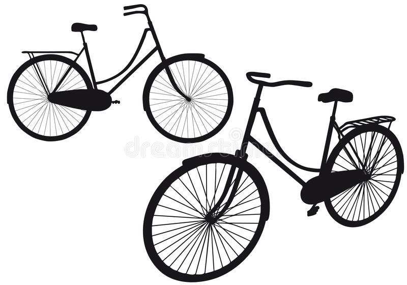 Vintage Bicycle, Stock Image