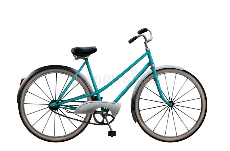 Download Vintage Bicycle Illustration Royalty Free Stock Images - Image: 17594809