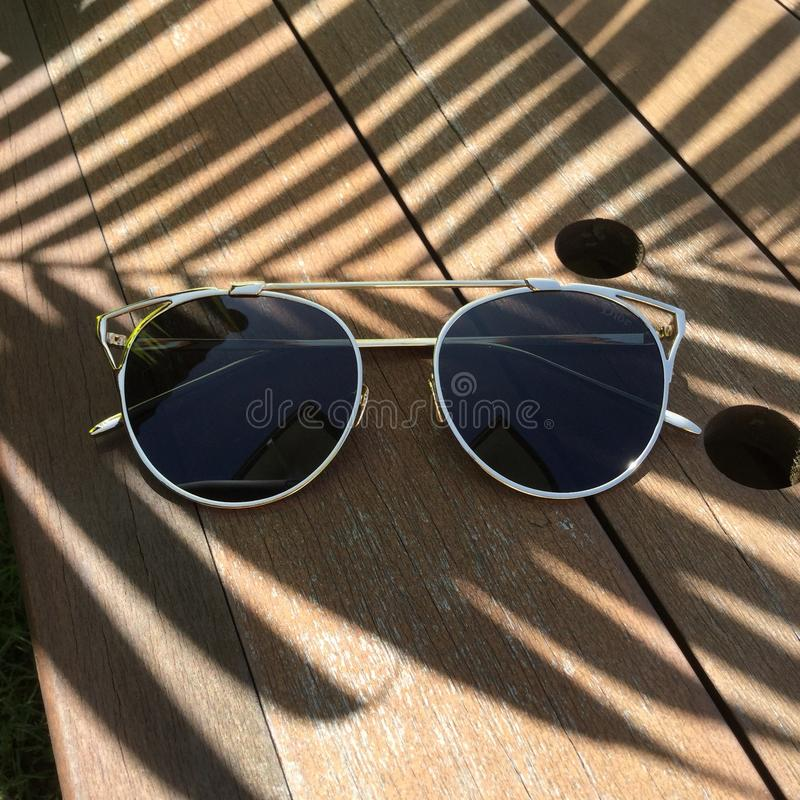 Vintage black shades royalty free stock images