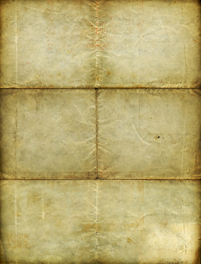 Vintage Blank Paper Stock Photos