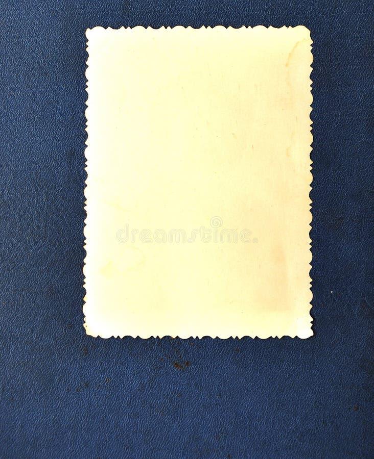 Download Vintage blank photo frame stock image. Image of black - 16289139