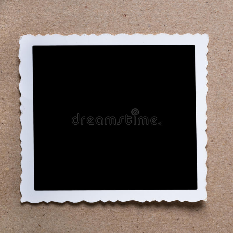 Free Vintage Blank Photograph. Royalty Free Stock Images - 15473169