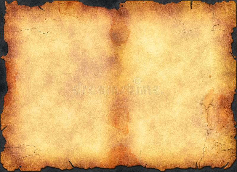 Download Vintage Blank Stained Page From Ancient Book Stock Photo - Image: 33703370