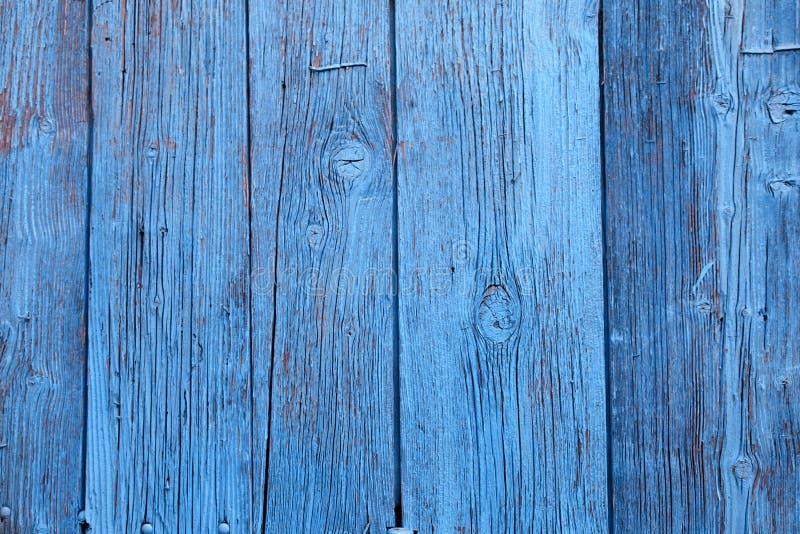 Vintage Blue Wood Background With Peeling Paint Stock Photo Image