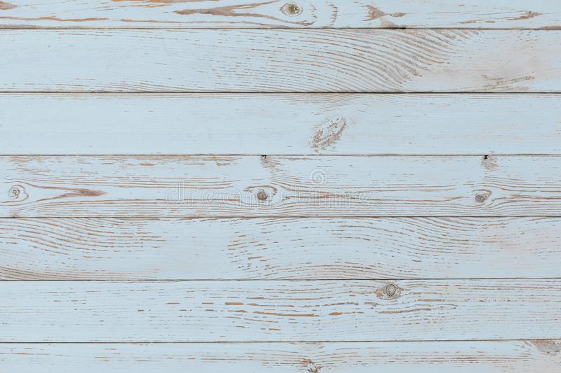 Blue painted wood texture stock images