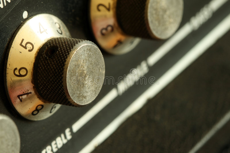 Vintage Blurry Knobs stock photography