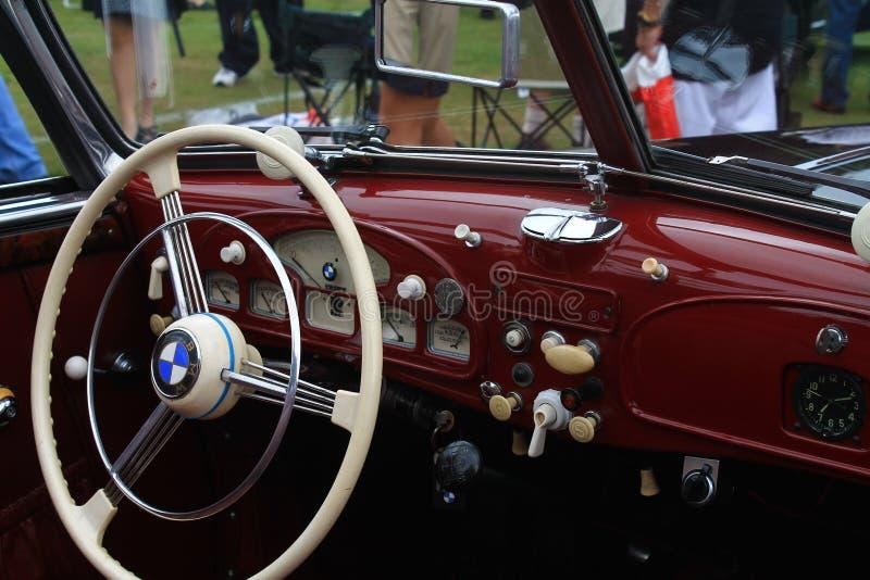 Download Vintage Bmw Sports Car Interior Editorial Photography