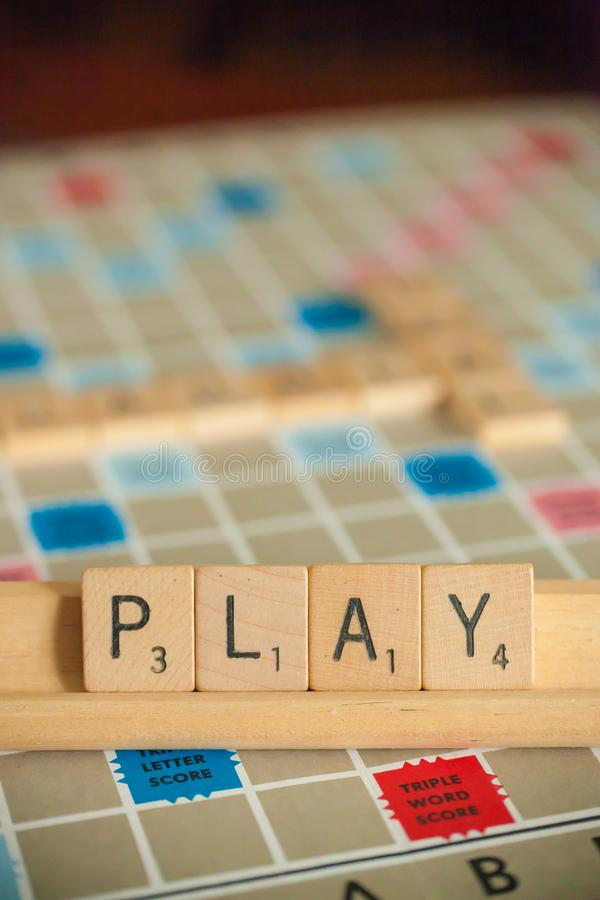 Board Scrabble Stock Images - Download 1,005 Royalty Free Photos