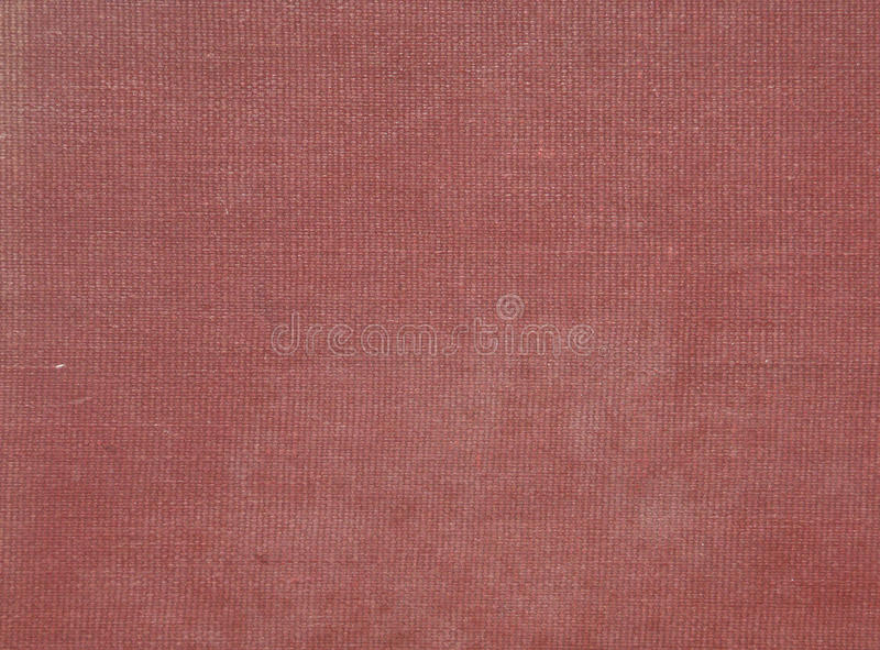 Vintage book cover. Red vintage book cover for background stock image