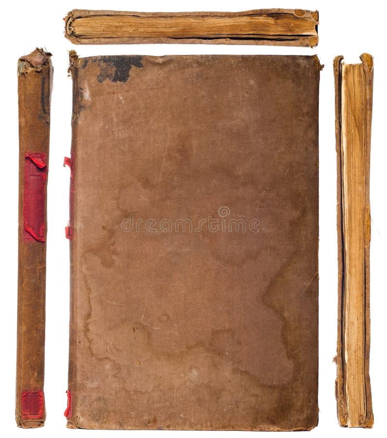 Vintage Book Sides Set Royalty Free Stock Photo
