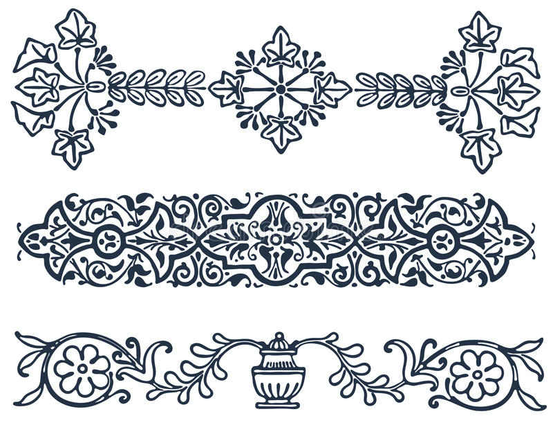 Vintage border frame filigree engraving with. Vector vintage border frame filigree engraving with retro ornament pattern in antique baroque style ornate vector illustration