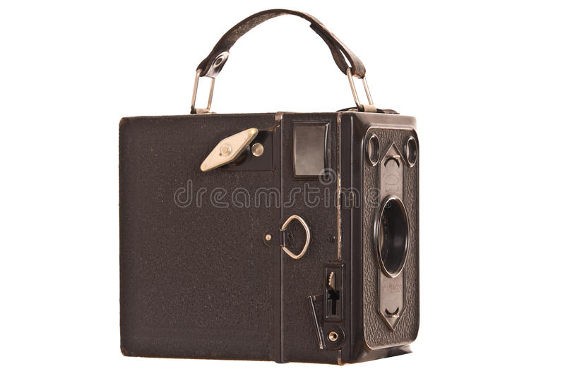 Download Vintage box camera stock photo. Image of shutter, camera - 18178830
