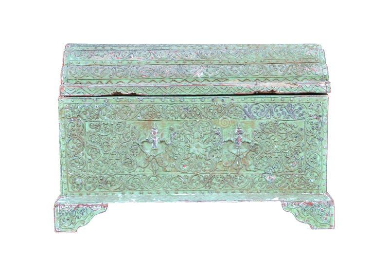 Vintage box isolated on white