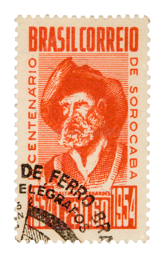 Download Vintage Brazil Postage Stamp Stock Photo - Image of postal, postage: 5706066