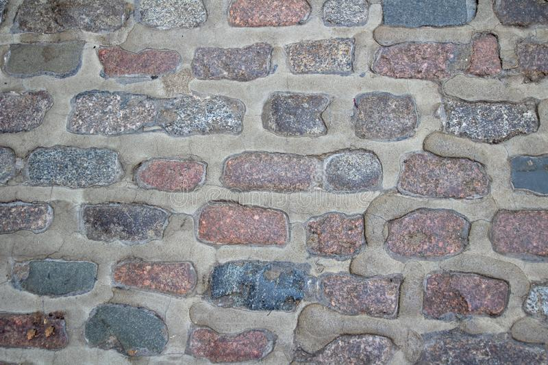 Vintage brick wall pattern background stock images