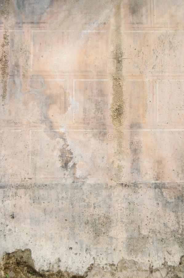 Vintage Brick Wall Texture Old Cracks for Background and Design Art Work. Simple grungy brick wall as seamless pattern texture background or as art design royalty free stock images