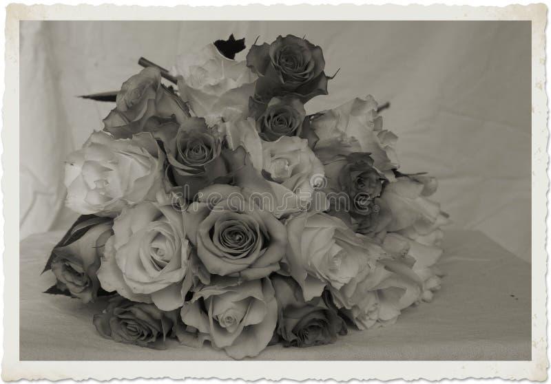 Vintage Brides Bouquet Stock Image