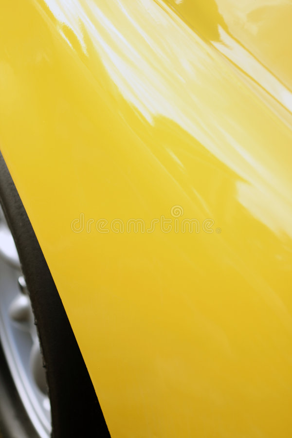 Vintage British car rear quarter royalty free stock photos
