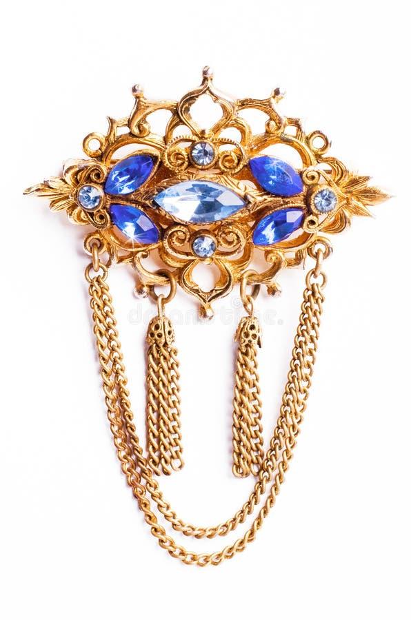 Free Vintage Brooch Royalty Free Stock Image - 13744186
