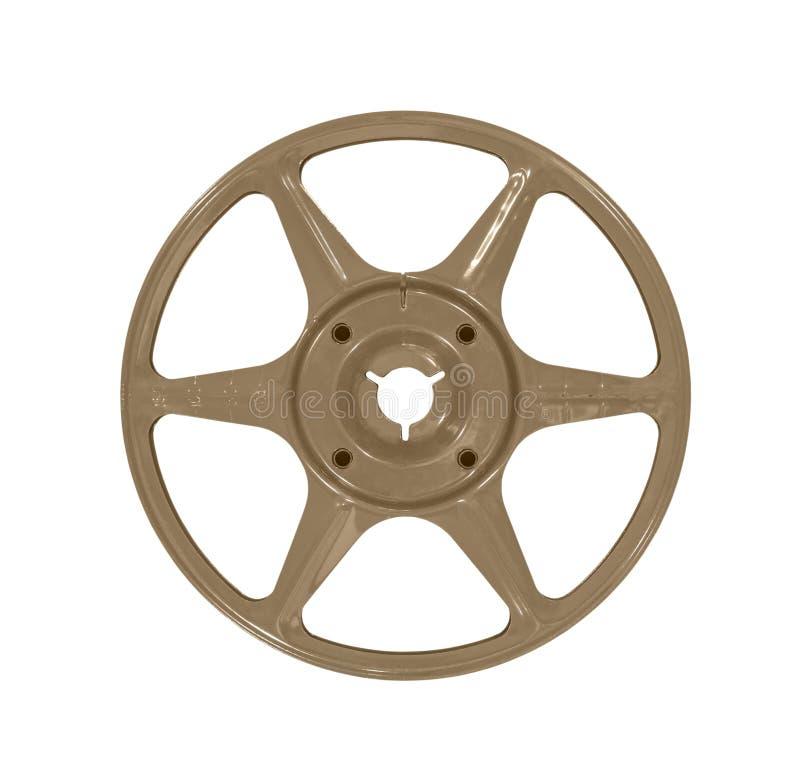 Download Vintage Brown Film Reel Stock Image - Image: 37951211