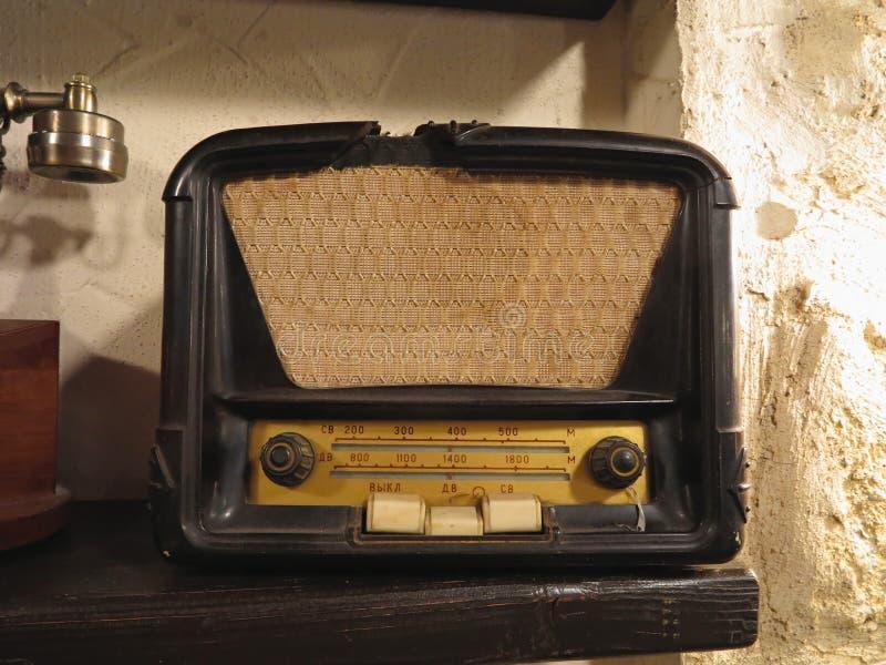 Download Vintage Brown Old Radio Receiver Stock Photo - Image: 33005038