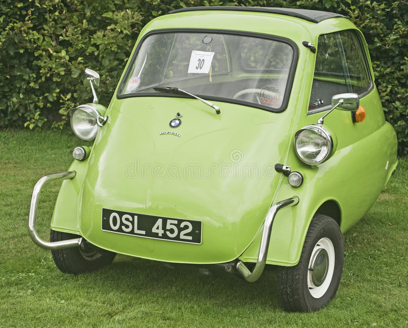 Marvelous Download Vintage Bubble Car At Fortrose. Editorial Stock Photo   Image Of  Plate, Isetta