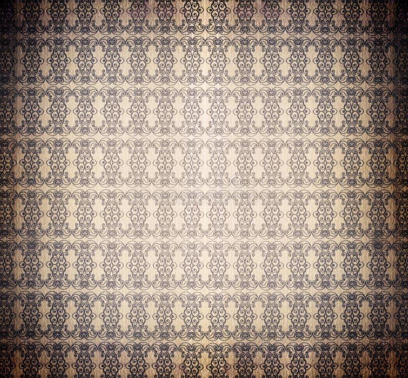 Free Vintage Burnt Decorative Wallpaper Royalty Free Stock Photos - 3780158
