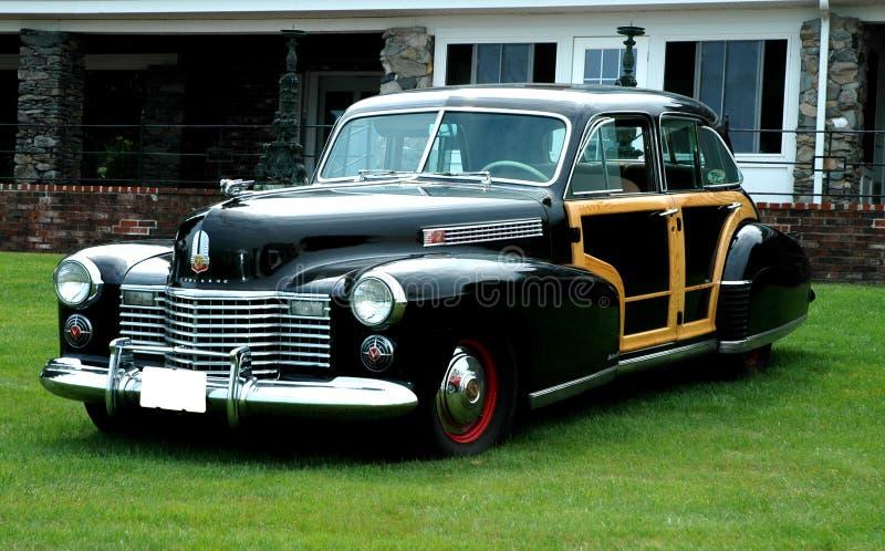 Vintage Cadillac sedan. royalty free stock photography