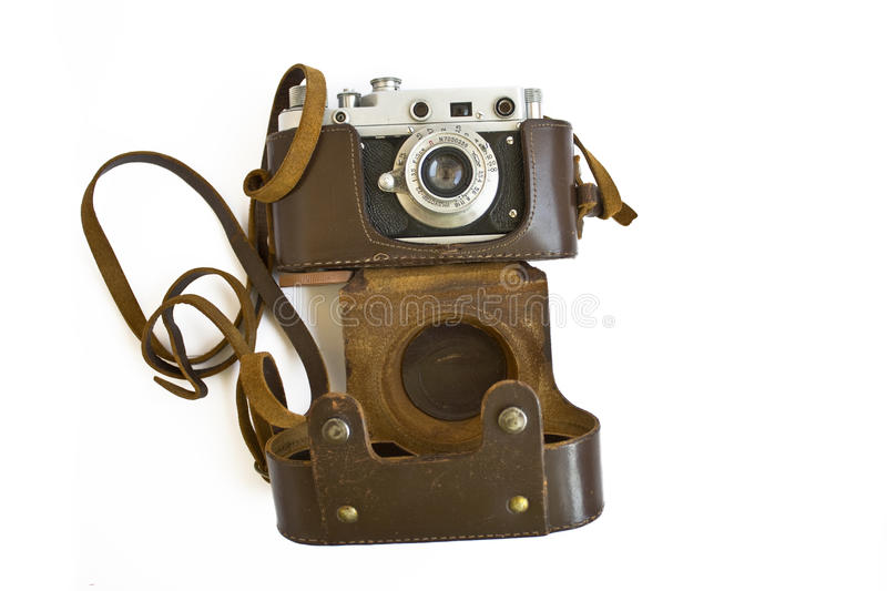 Download Vintage camera stock image. Image of lens, white, picture - 23917093