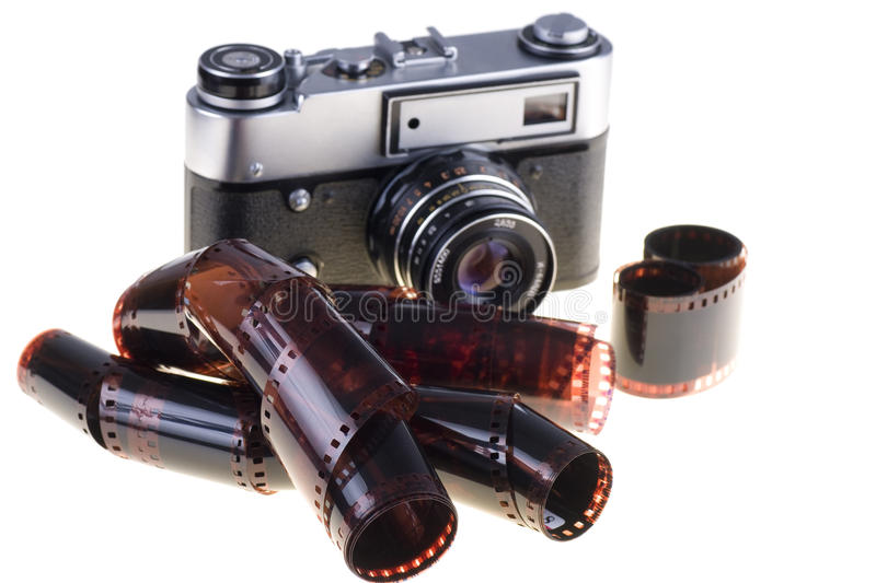 Download Vintage camera stock photo. Image of ancient, dark, antique - 24371746