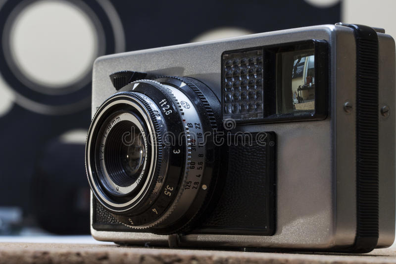 Vintage camera detail