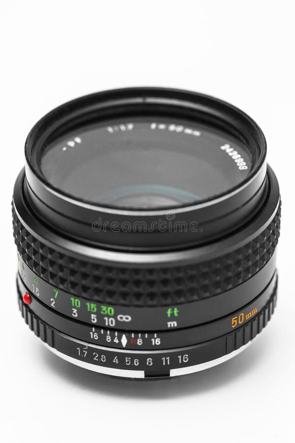 Download Vintage Camera DSLR Lens  On White Stock Photo - Image: 26195030