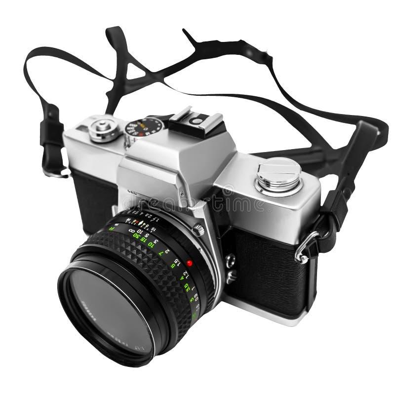 Download Vintage Camera Isolated On White Background DSLR Stock Photo - Image: 26178668