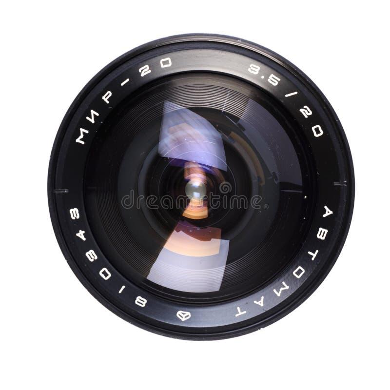 Free Vintage Camera Lens  Isolated On White Background - Image Royalty Free Stock Photography - 158735287