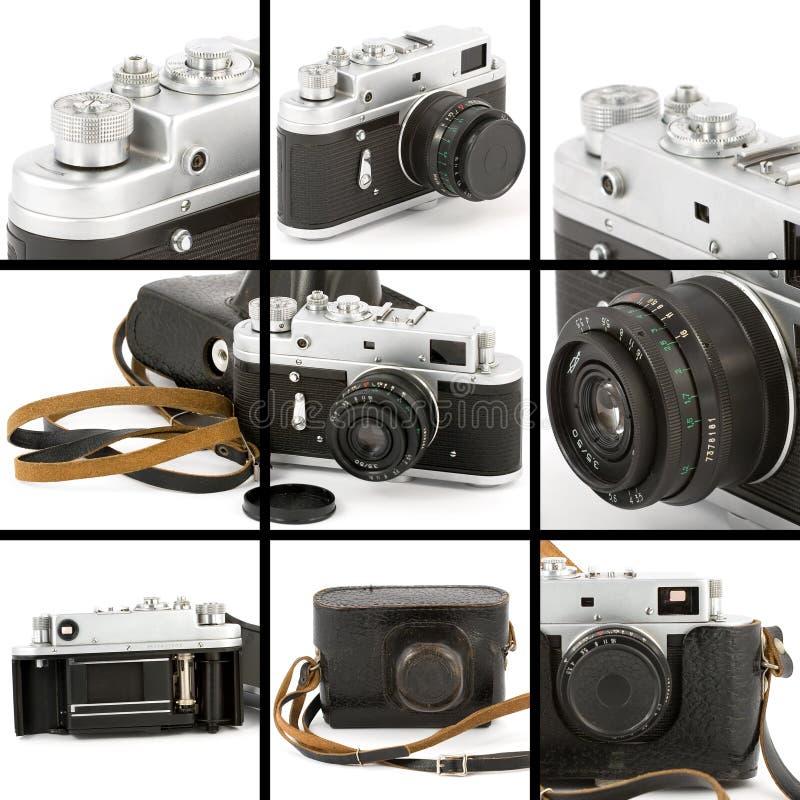 Download Vintage Camera Montage stock photo. Image of background - 9348792