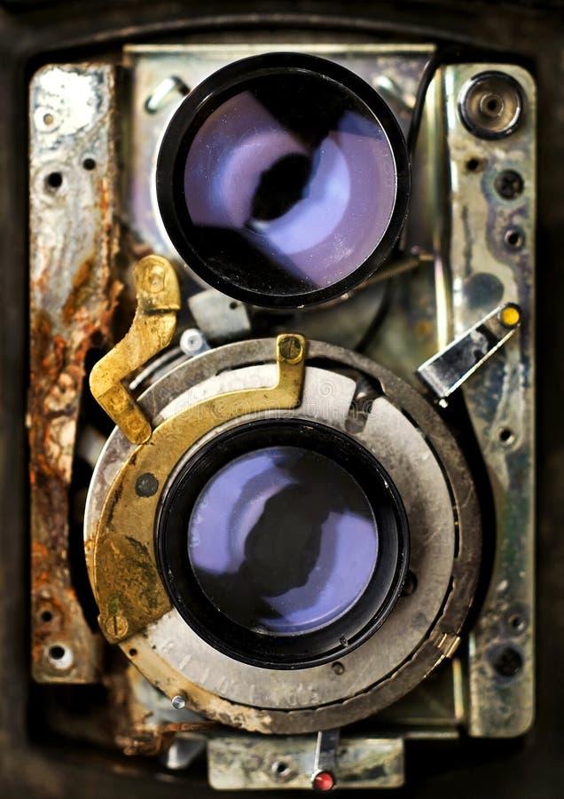 Vintage camera repair tlr stock image. Image of twins ...