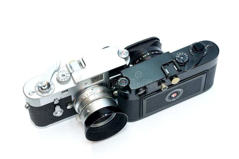 Download Vintage Camera On White Background Stock Photo - Image: 36912958