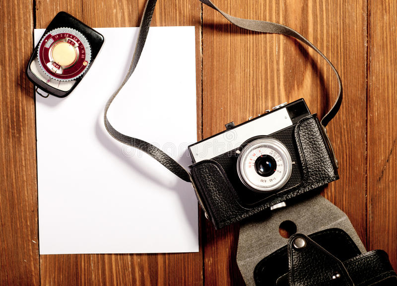 Download Vintage camera stock photo. Image of cameras, copy, technology - 36771644