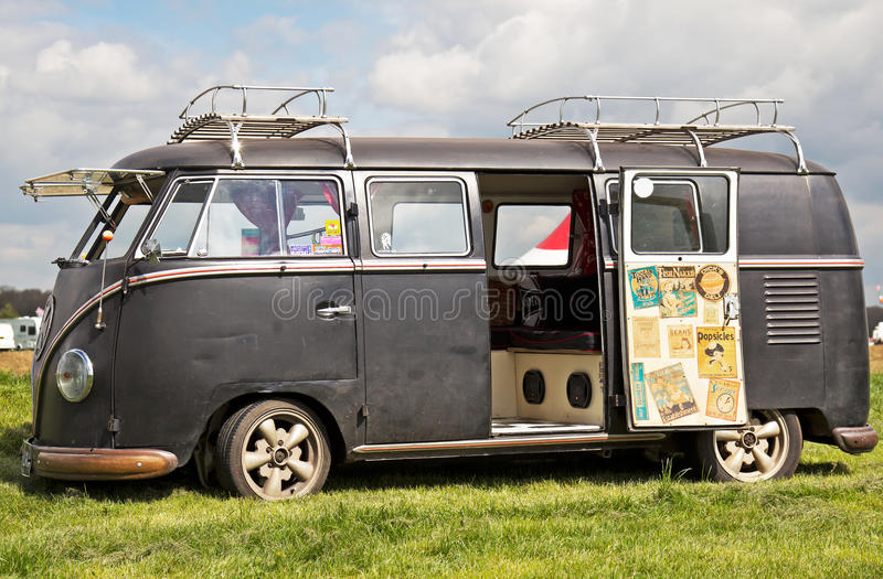 Download Vintage Camper Van Editorial Stock Photo Image Of Transportation