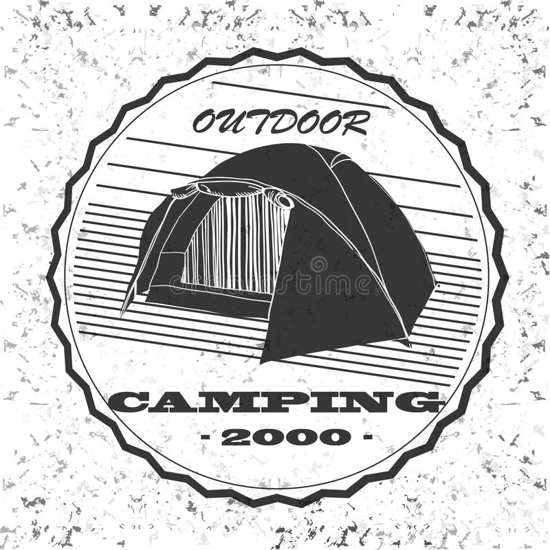Download Vintage Camping And Outdoor Adventure Emblems Logos Badges Equipment Tent